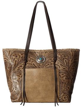 American West Santa Barbara Large Shopper Tote Tote Handbags
