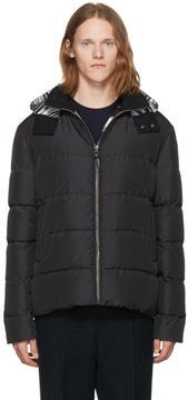 Missoni Black Down Hooded Jacket