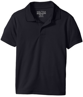 Nautica Husky Short Sleeve Performance Polo Boy's Short Sleeve Pullover