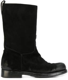 Silvano Sassetti mid-calf distressed boots