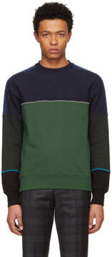 Paul Smith Multicolor Colorblock Crewneck Sweatshirt
