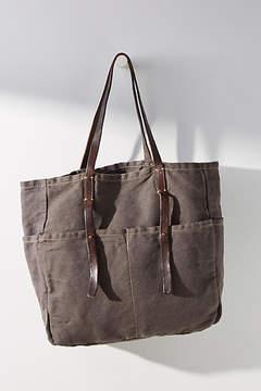 Anthropologie Utilitarian Canvas Bag