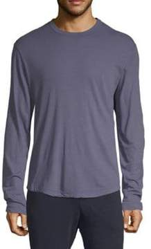 James Perse Long-Sleeve Cotton Tee