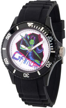 Marvel Guardian Of The Galaxy Mens Black Strap Watch-Wma000112