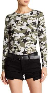 Chaser Camo Long Sleeve Top