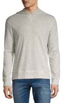 Michael Bastian Honeycomb Heathered Hoodie