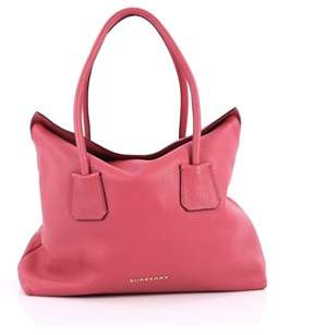 Burberry Pre-owned: Baynard Tote Grainy Leather. - PINK - STYLE