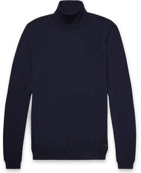 HUGO BOSS Virgin Wool Rollneck Sweater
