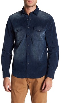 Joe's Jeans Ralston Corduory Regular Fit Shirt