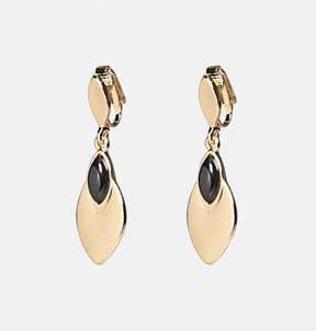 Avenue Marquise Clip-On Drop Earrings