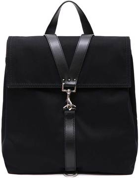 Valentino Leather Cross Laces Backpack
