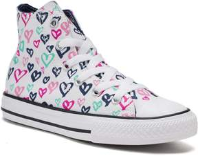 Converse Girls' Chuck Taylor All Star Print High Top Sneakers