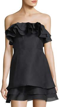 Keepsake Float Ruffled Mini Dress