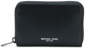 Michael Kors logo zip wallet