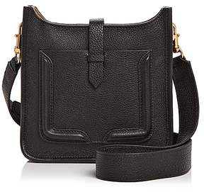 Rebecca Minkoff Mini Feed Leather Crossbody - BLACK/TAUPE BLACK/GOLD - STYLE