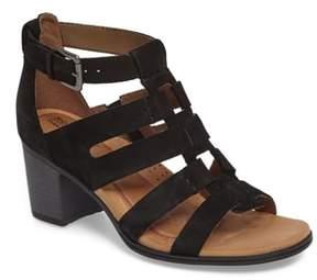Rockport Cobb Hill Hattie Block Heel Gladiator Sandal