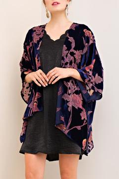 Entro Velvet Burnout Kimono
