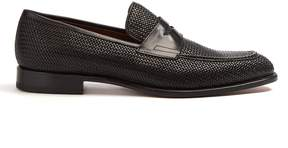 Fratelli Rossetti Woven-leather loafers
