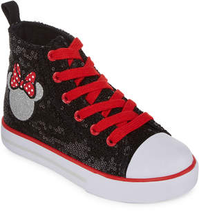 Disney Minnie Mouse Girls Slip-On Shoes
