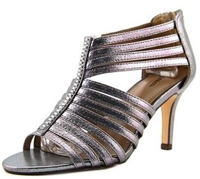 Style&Co. Style & Co Shaynaa Women Open Toe Synthetic Gray Sandals.