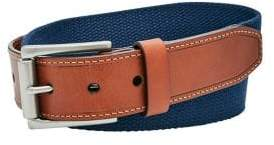 Fossil Two-Tone Textured Belt
