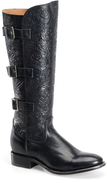 Sonora Black Mandi Leather Boot