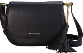 Michael Kors MICHAEL Large Elyse Saddlebag - BLACK - STYLE