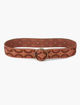 Lucky Brand PERFORATED STUD BELT