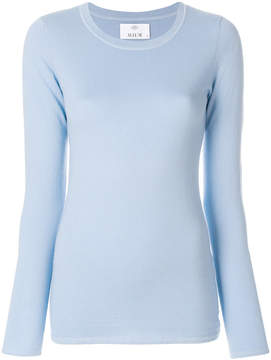 Allude fitted knit top