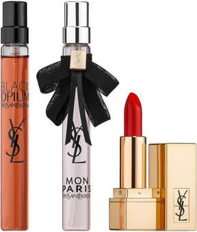 Saint Laurent Black Opium & Mon Paris Lipstick Gift Set