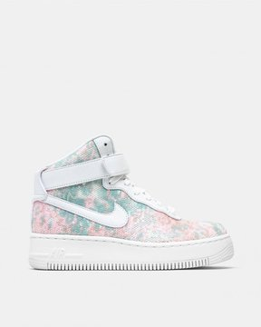 Nike Women's Air Force 1 Upstep High LX (White | White | White)