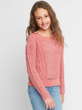 Gap Cable-Knit Textured Sweater