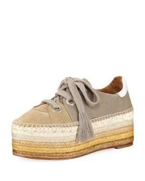 Chloé Qai Platform Espadrille Sneaker