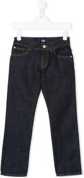 Emporio Armani Kids classic straight leg jeans