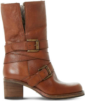 Dune Rockerr leather boots