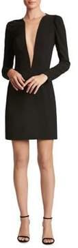 Dress the Population Crepe Sheath Mini Dress