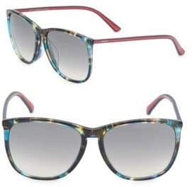 Gucci 59MM, Oval Sunglasses