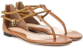 Alexander McQueen Leather sandals