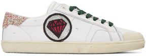 Saint Laurent Off-White Court Classic Patches Sneakers