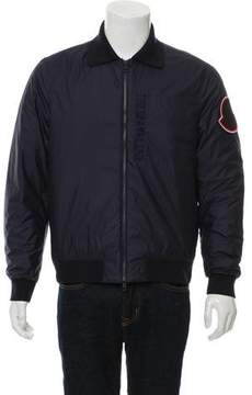 Moncler Woven Bomber Jacket w/ Tags