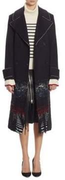 Each X Other Long Hybrid Fabric Coat