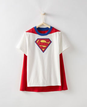 Hanna Andersson B WB Superman Caped S/S Tee