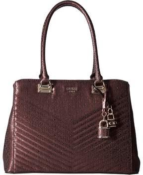 GUESS Halley Girlfriend Satchel Satchel Handbags