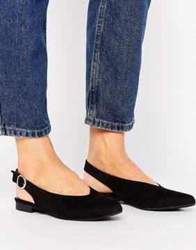 New Look Suedette Slingback Shoe