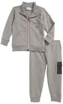 Moncler Toddler Boy's Zip-Up Jacket & Sweatpants Set