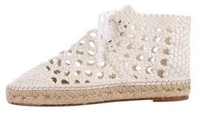 Celine Braided Espadrille Sneakers