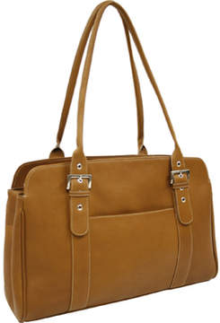 Piel Leather Ladies Buckle Business Tote 2742 (Women's)