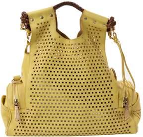 Corto Moltedo Yellow Leather Handbag