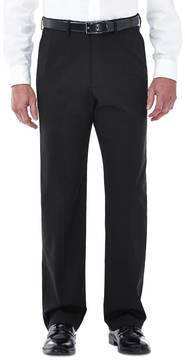 Haggar Big & Tall Premium Stretch Classic-Fit Plain-Front Dress Pants
