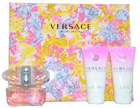 Versace Bright Crystal by Versace Women's Perfume - 3 Piece Gift Set